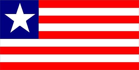 Liberia Flag Flag Of Liberia Long Hairstyles