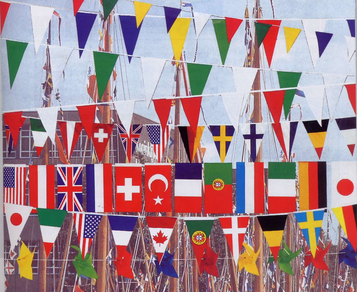 Individual Flags Of The World Countries